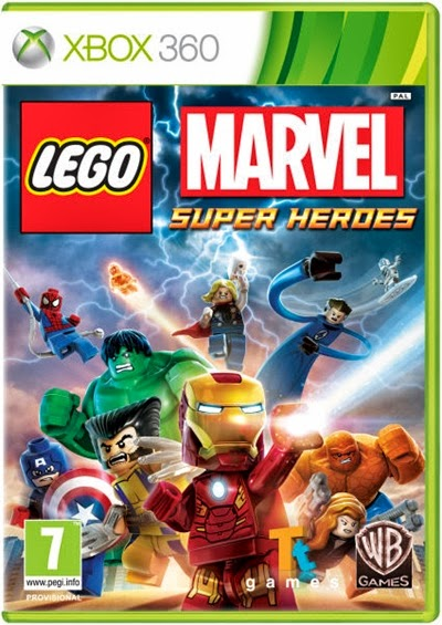 LEGO Marvel Super Heroes Xbox 360 Español Región Free XGD3