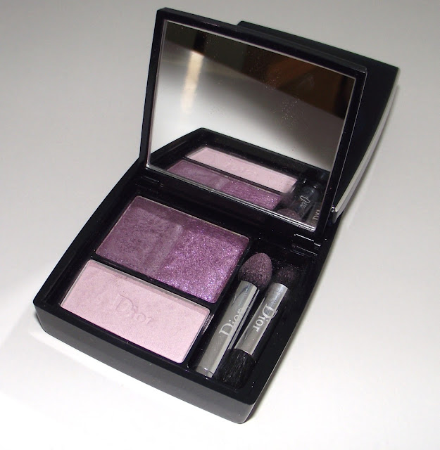 Dior 3 Couleurs Smoky Eye Shadow Palette Review - Smoky Violet 961