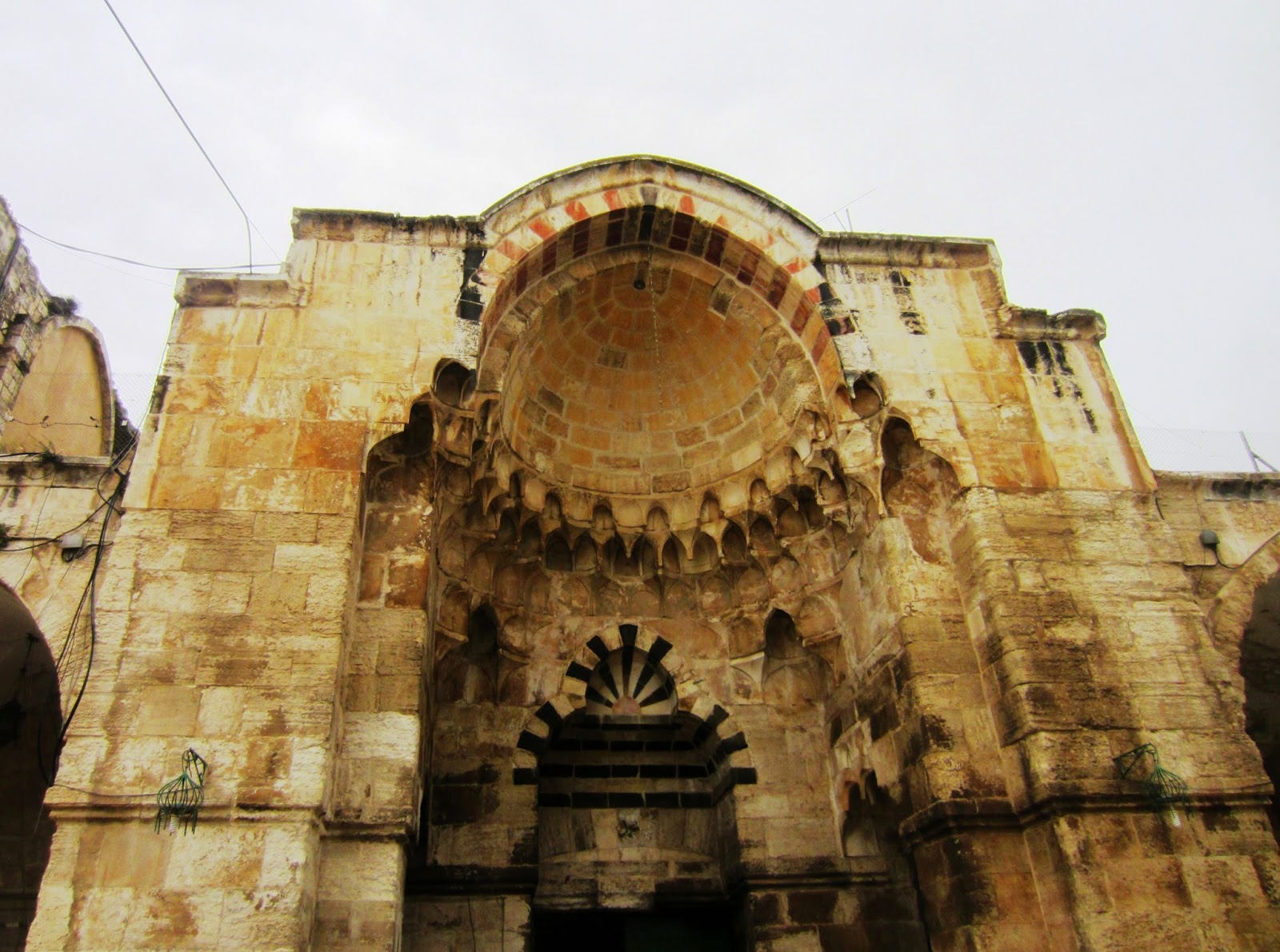Bab al-Qattanin, or Gate of the Cotton Merchants, Jerusalem, Souvenir Chronicles