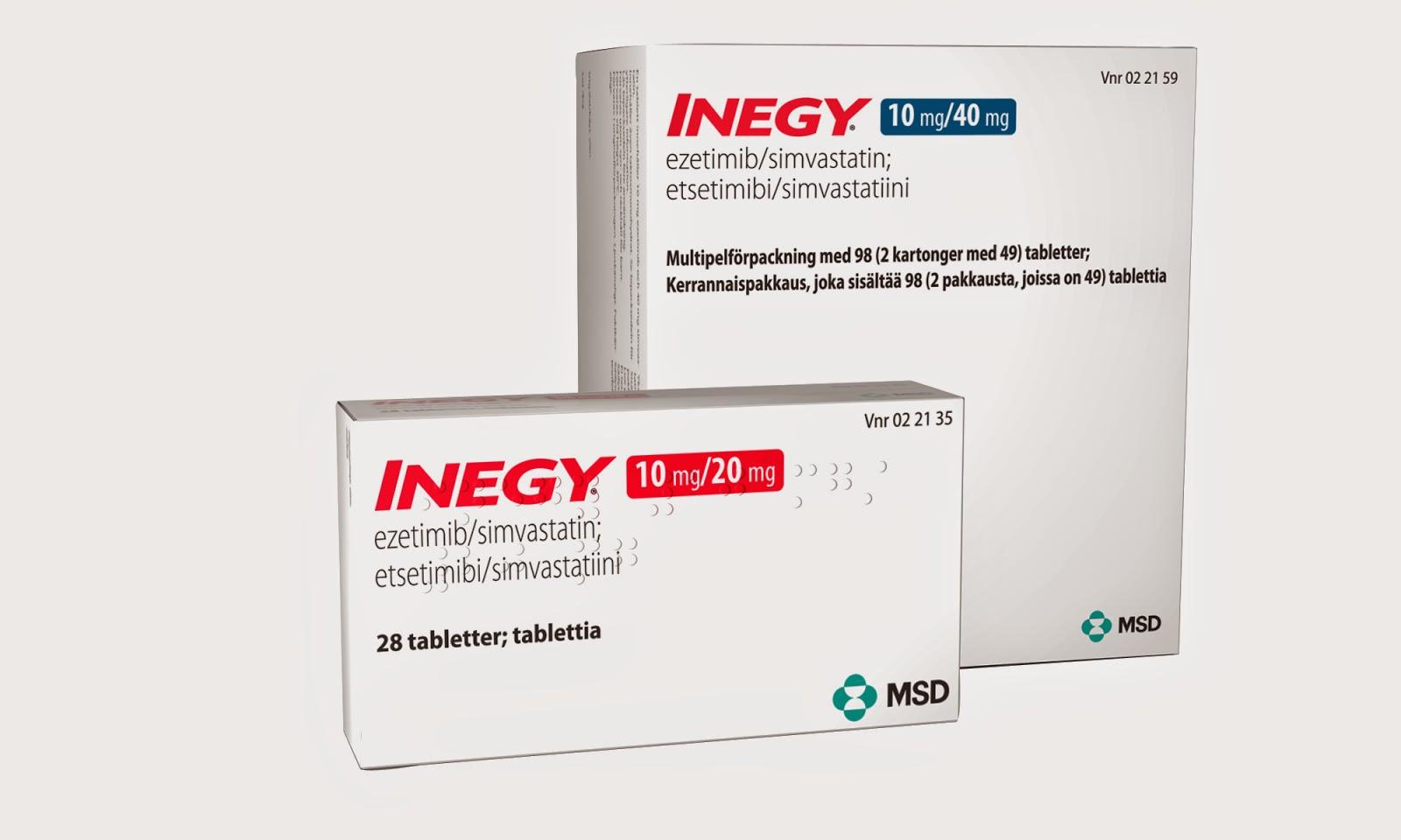 إينجي,ازيتيمب,سيمفاستاتين,simvastatin,Ezetimibe,الكوليسترول,cholesterol,inegy