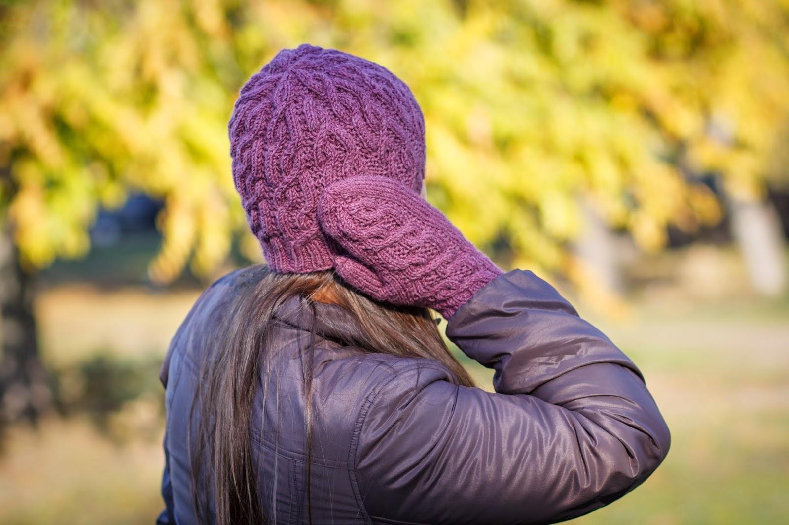 Ирина Дмитриева шапка варежки Creek