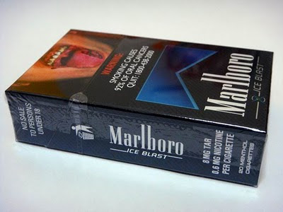 Menthol cigarettes Winston Arizona brands