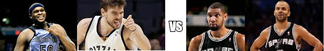 Spurs Vs Grizzlies