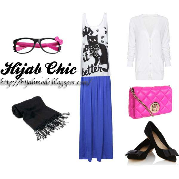 Idées de tenue hijab