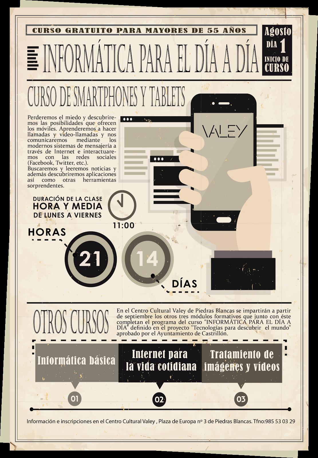 CURSO DE SMARTPHONES Y TABLETS