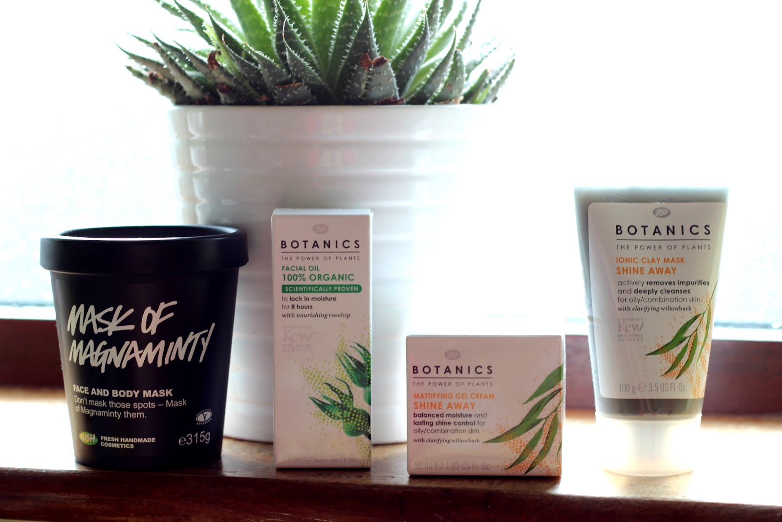 picture of new skincare items