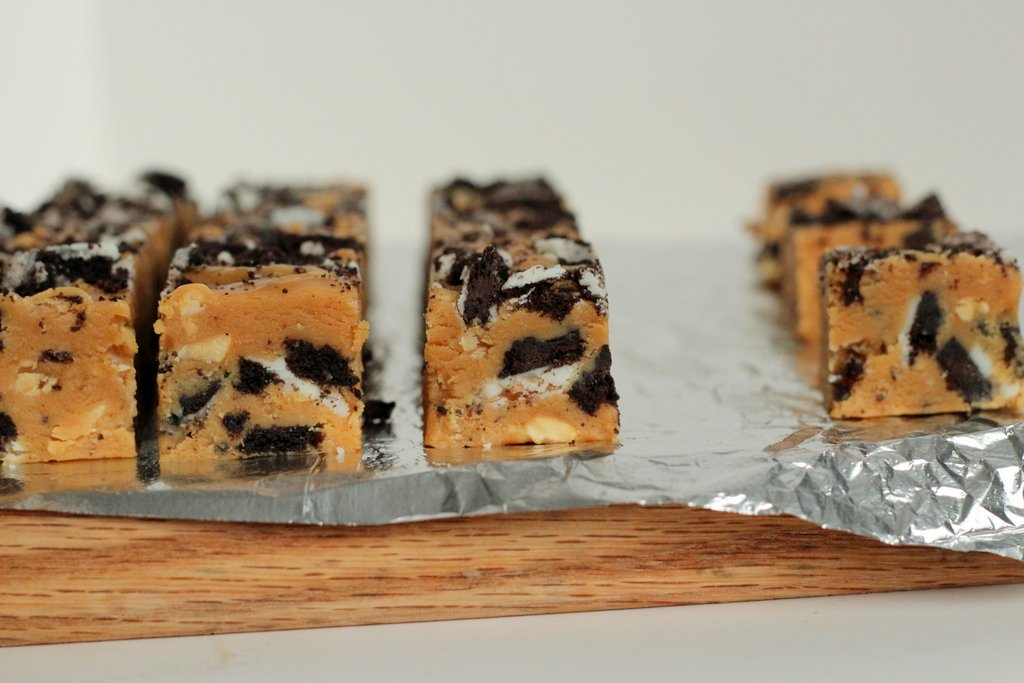 Tried in blue weird recipe wednesday peanut butter cookies and creme fudge - Unknown uses of butter ...
