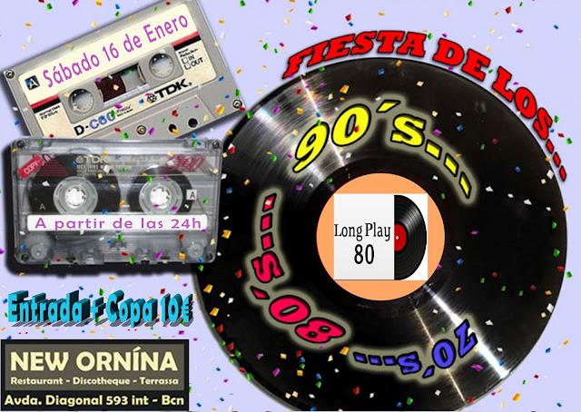 Flyer Fiesta 70s, 80s, 90s