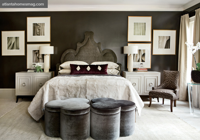 Masculine bedrooms song of style for Masculine room colors