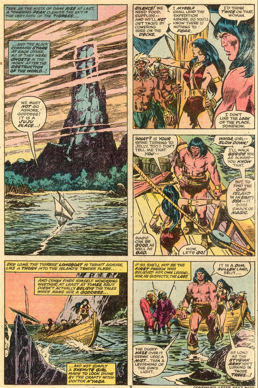Conan the Barbarian (1970) Issue #65 #77 - English 6