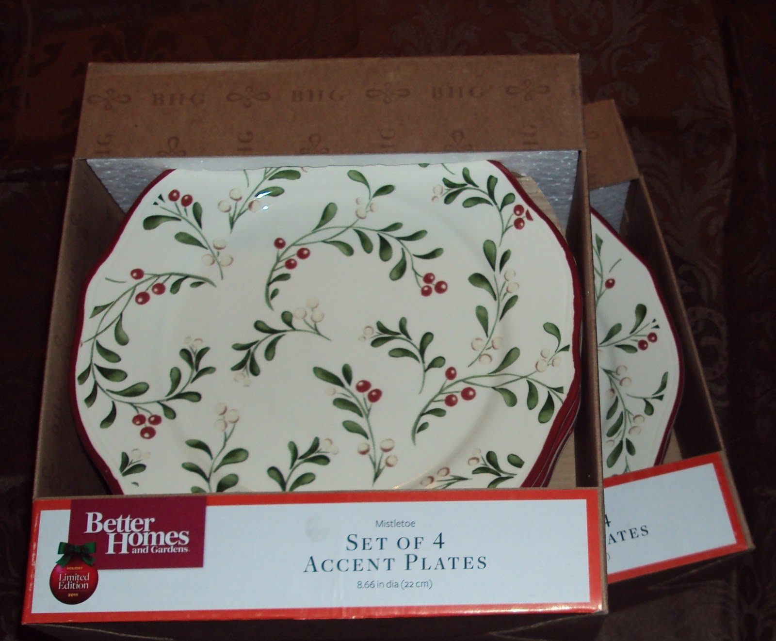 Mission Locate Holiday Dinnerware by Better Homes Gardens Wal