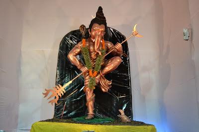 Ganesha in Form shivji Dabgarwad Surat