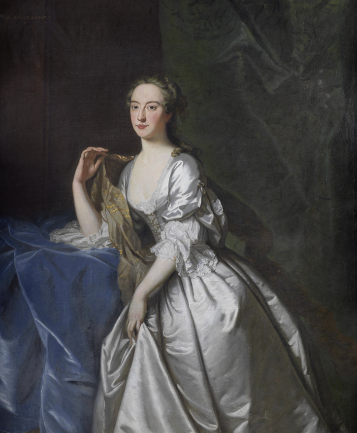 Lady, said to be Anna Grenville, née Chambers, Countess Temple by circle of Thomas Hudson