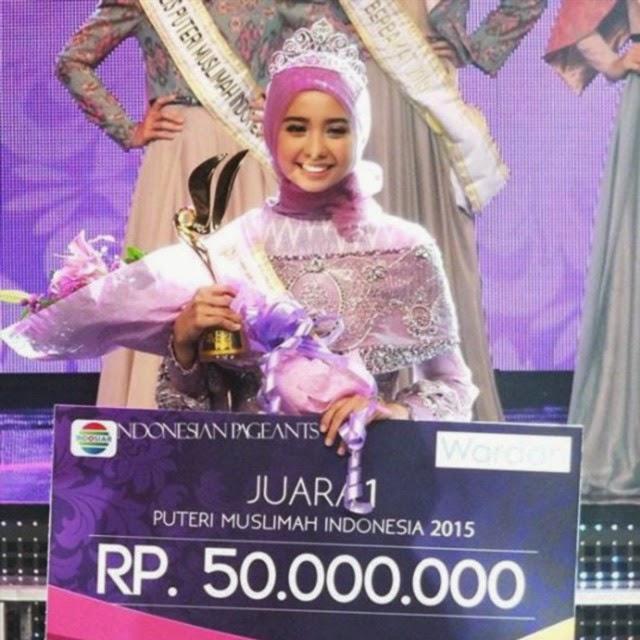 Profil dan Biodata Nesa Aqila Herryanto Putri Pemenang Putri Muslimah Indonesia 2015