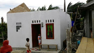 citisfm -Atap Rumah Warga Haloban Rusak Diterjang Puting Beliung