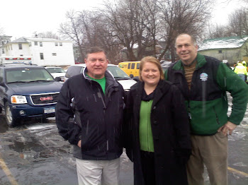 St. Patrick's Parade and I am joined by Members of Assembly Blankenbush and Russell