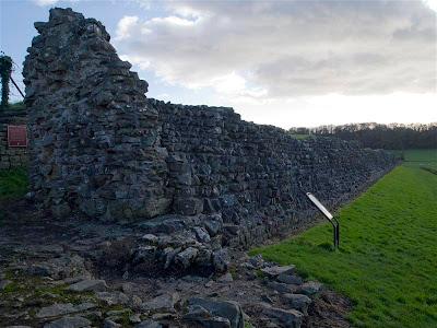 Muralla de Caerwent (Venta Silurum) (Gales)
