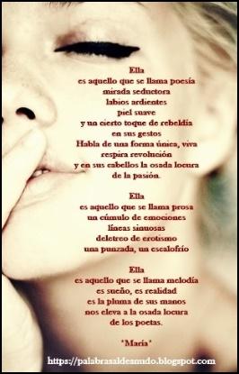 De *María Piel*  Gracias, preciosa ♥