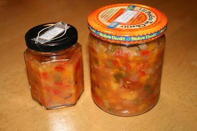 Tropical salsas