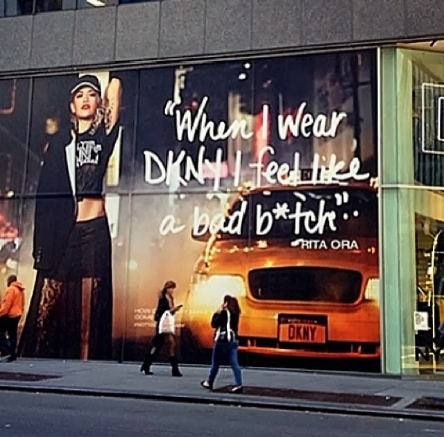"Rita Ora, nje ""bad bitch"" i DKNY"