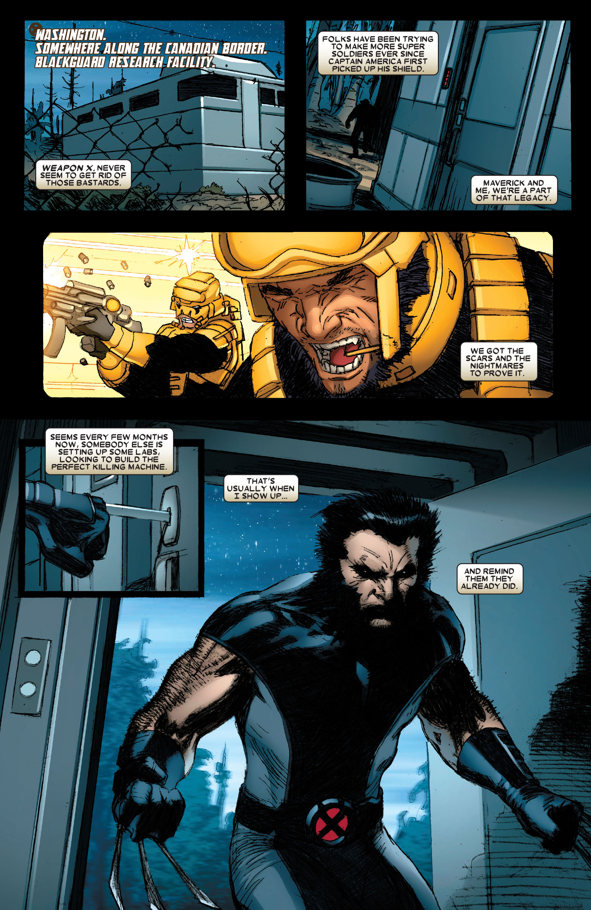 Wolverine: Weapon X #1 #16 - English 21