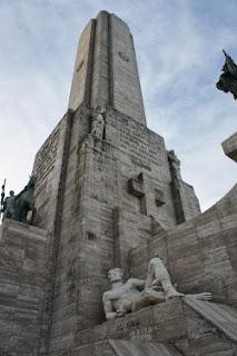 Il monumento alla Bandiera argentina