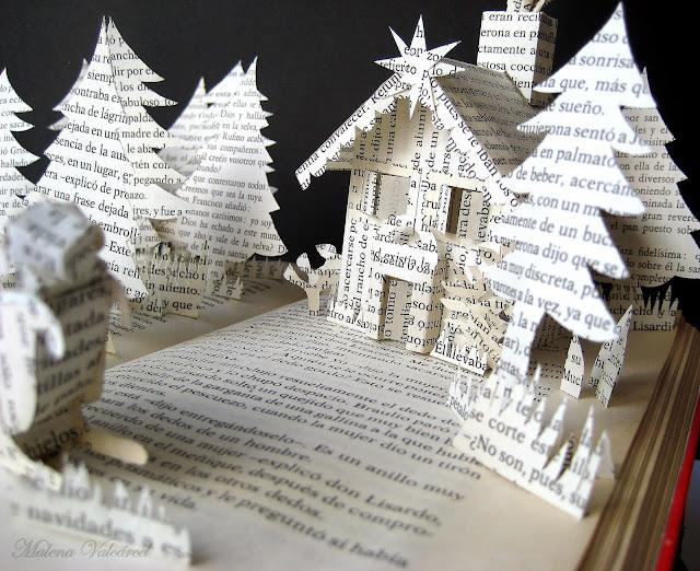 book-art-christmas