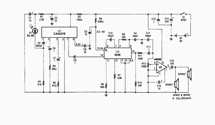 wireless ir headphone receiver schematic simple schematic collection