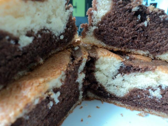 Bizcocho chocolate mascarpone receta