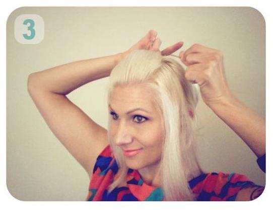tutorial cara membentuk posisi rambut