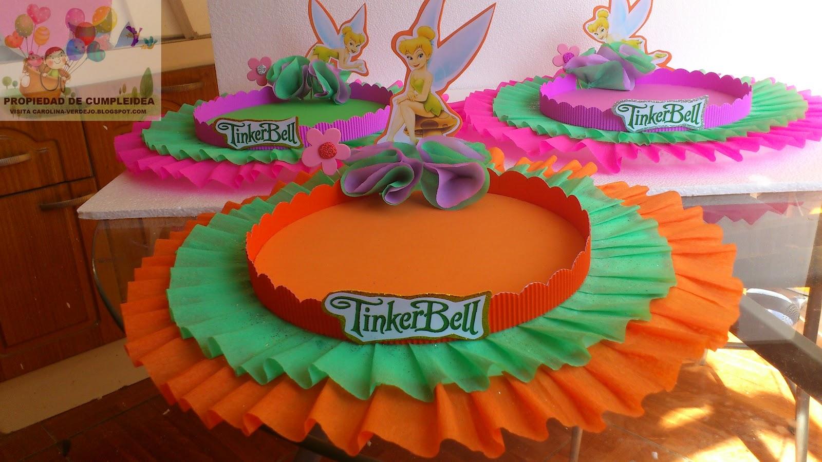 DECORACIONES INFANTILES: TINKERBELL