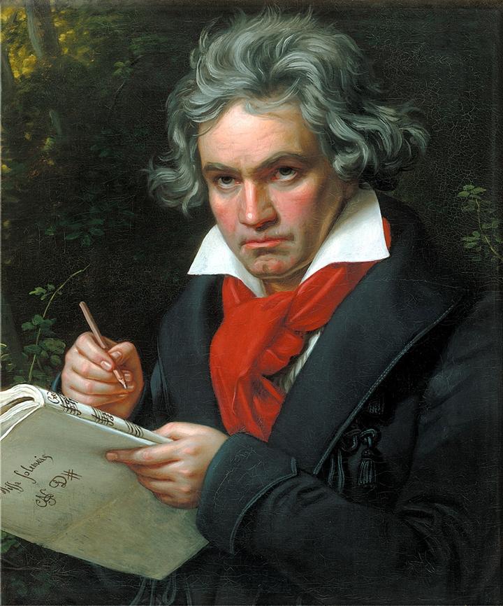 Beethoven, 1820 - Joseph Karl Stieler 1781-1858