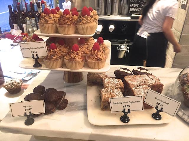 Vegan Dessert Case at by CHLOE NYC