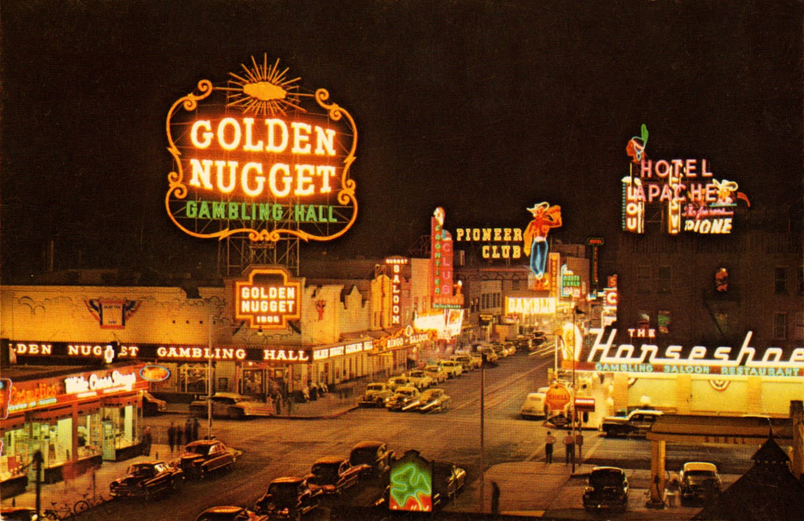 Vintage photo las vegas