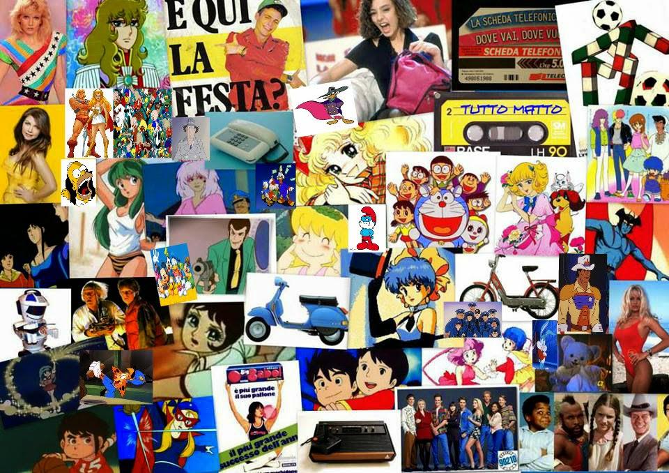 Ricordi cartoni animati telefilm e pubblicità anni