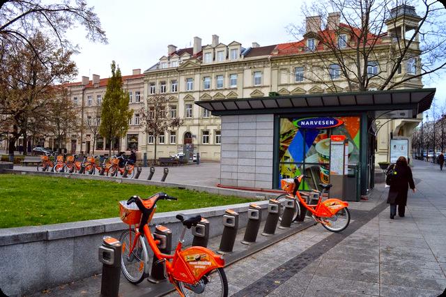 Где арендовать велосипед в Вильнюсе