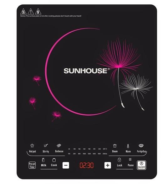 Bếp từ cảm ứng sunhouse shd 6862