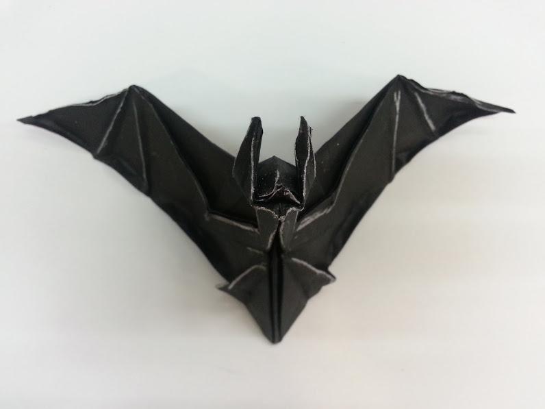 origa mania origami fledermaus jeremy schafer. Black Bedroom Furniture Sets. Home Design Ideas