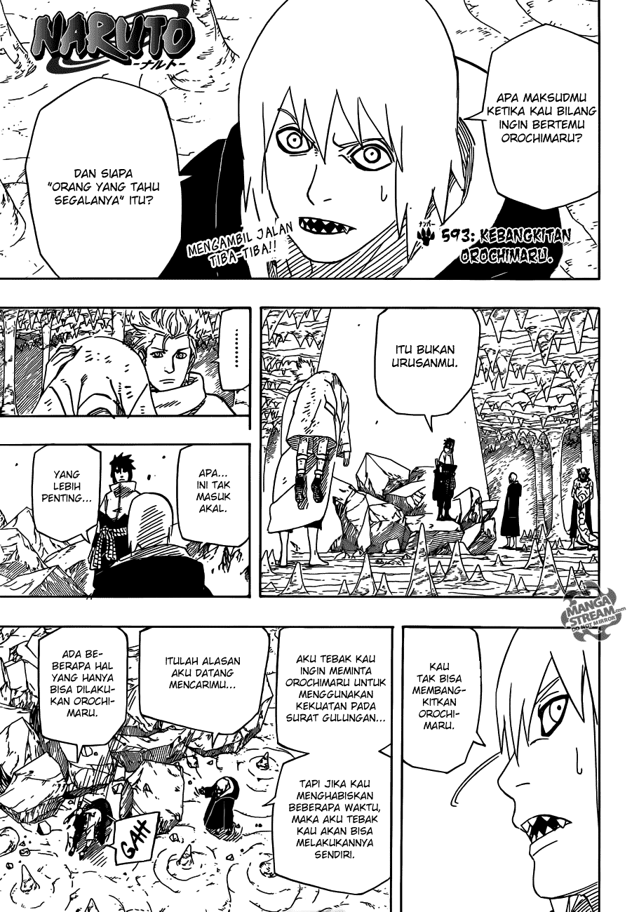 Baca manga komik Naruto chapter 593 bahasa Indonesia