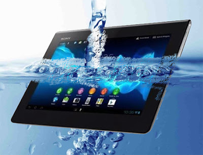 Sony Xperia Tablet Z is water-proof