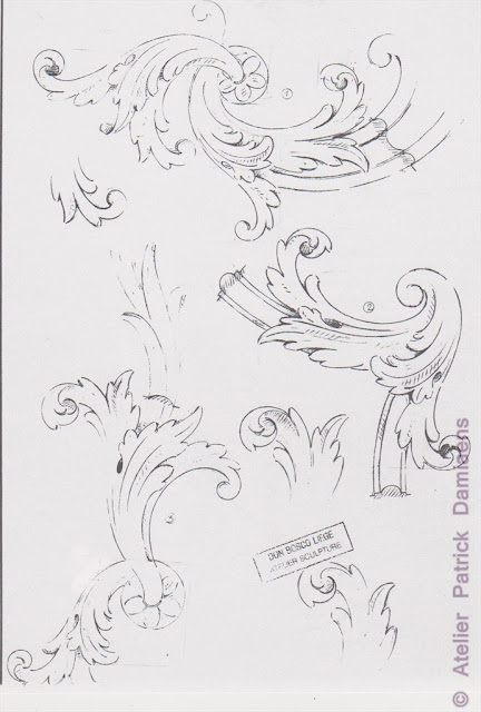 Acanthus Leaf Carving