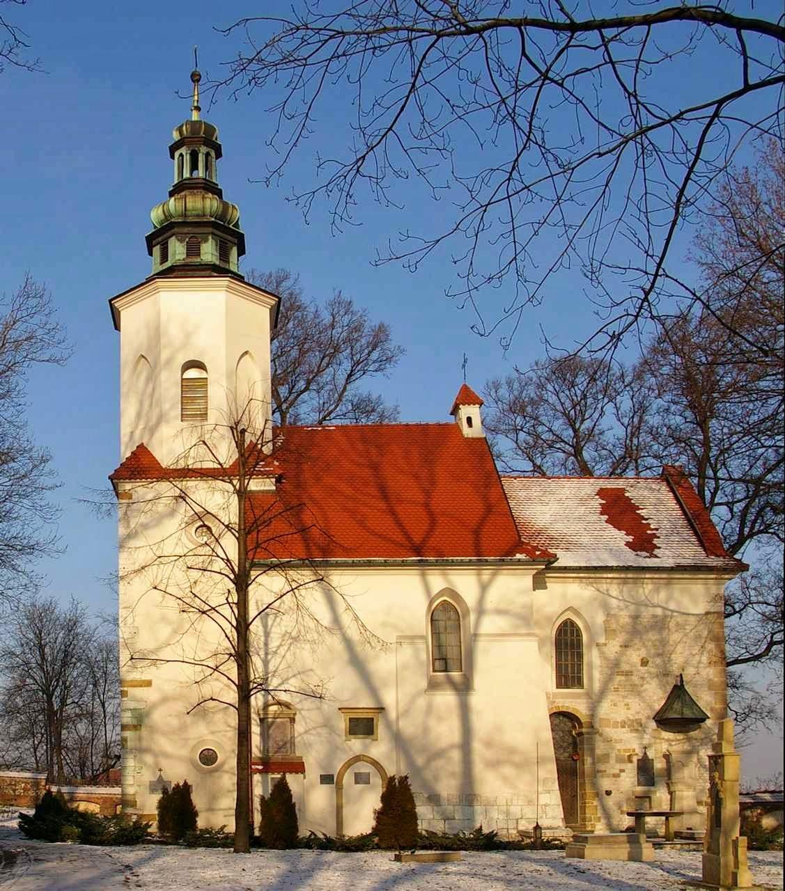 A igreja de São Salvador, em Cracóvia, Polônia.