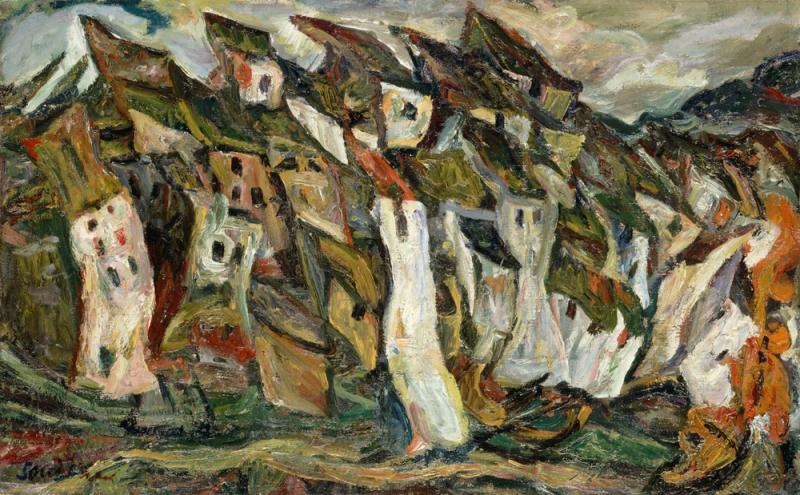 Samuel gruber 39 s jewish art monuments happy birthday for Chaim soutine