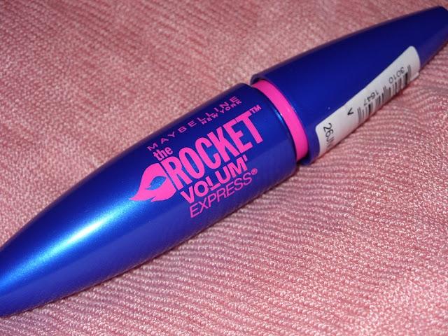 Recenzja: Mascara The Rocket Volum Express Maybelline New York