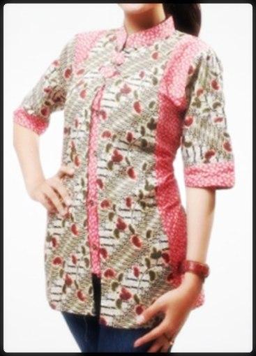 ... busana muslim kemeja batik wanita d 23 pelauts com blazer wanita model