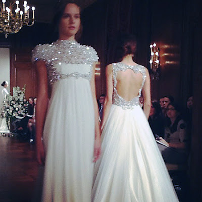 Chasing rainbows kissing frogs jenny packham 2013 fall for Jenny packham wedding dresses 2013