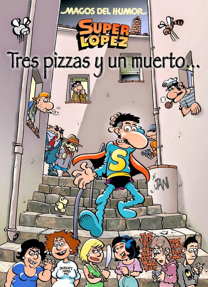 Superlópez - Tres pizzas y un muerto