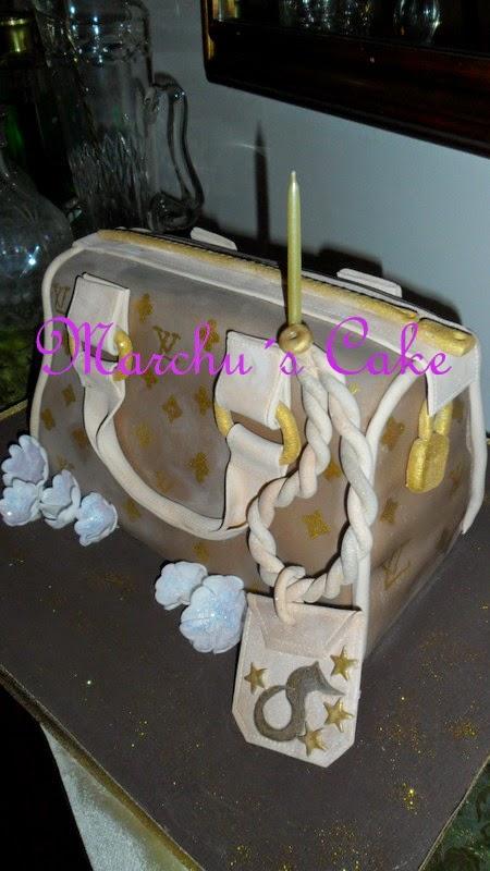 Torta decorada Cartera Louis Vuitton