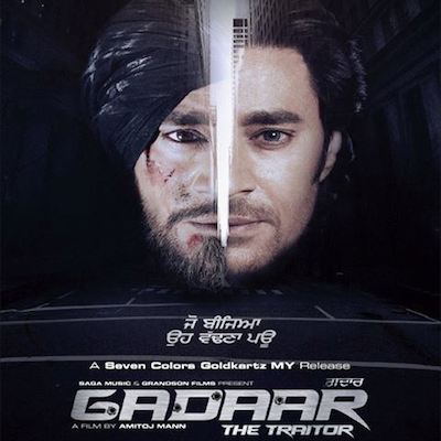 Gaddar The Traitor (2015) Punjabi PDVD 700mb