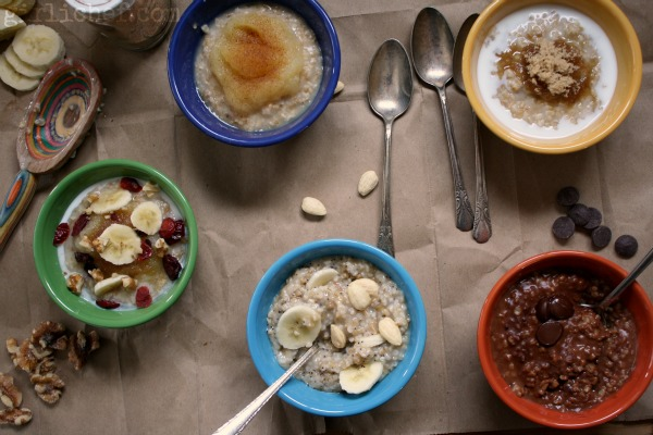 girlichef: Ultimate Oatmeal, Steel Cut Oats, and a feature at Momma's Meals!